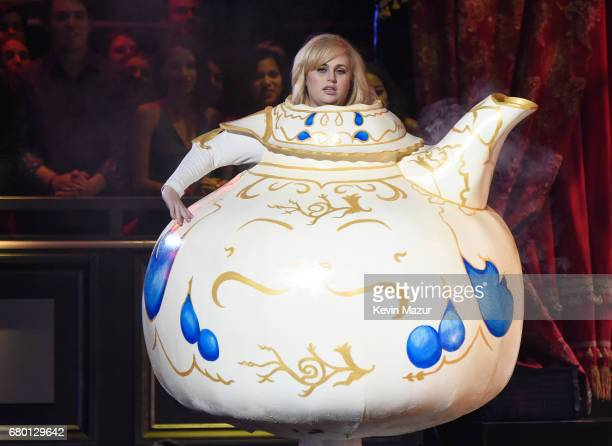 Actor Rebel Wilson performs onstage during the 2017 MTV Movie And TV Awards at The Shrine Auditorium on May 7 2017 in Los Angeles California