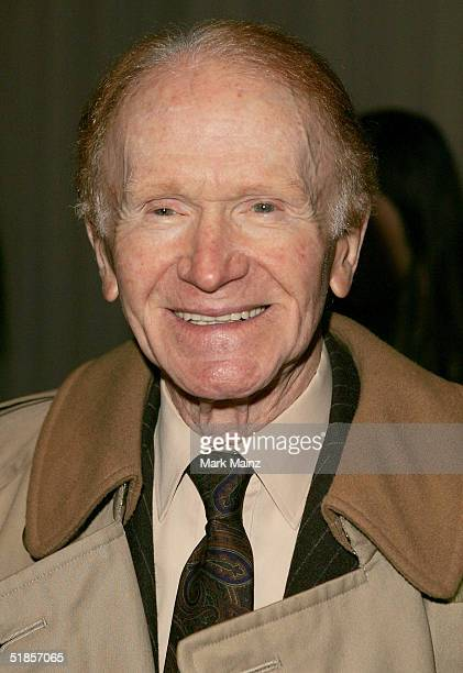 Actor Red Button attends the 'ACLU's Bill Of Rights Dinner Honoring Dustin Hoffman' at the Beverly Hilton Hotel on December 13 2004 in Beverly Hills...