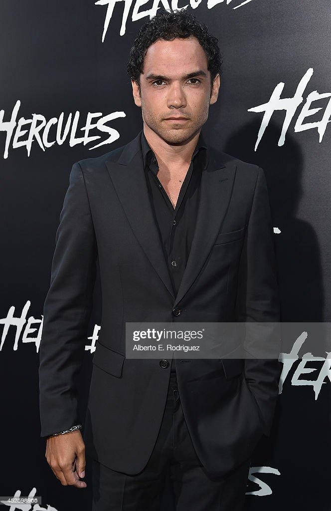 Actor Reece Ritchie arrives to the premiere of Paramount Pictures' 'Hercules' at the TCL Chinese Theatre on July 23, 2014 in Hollywood, California.