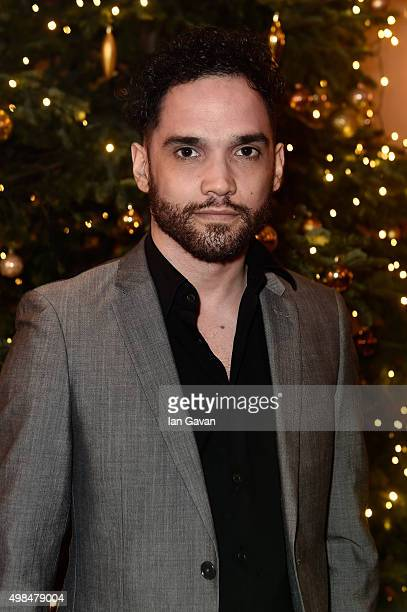 Actor Reece Ritchie attend the National Youth Theatre fundraiser at Bloomsbury Hotel on November 23 2015 in London England