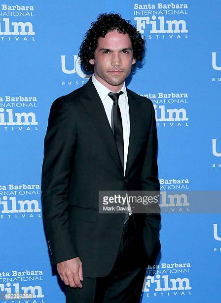 Actor Reece Ritchie attends the 30th Santa Barbara International Film Festival Opening Night presentation of 'Desert Dancer' on January 27 2015 in...