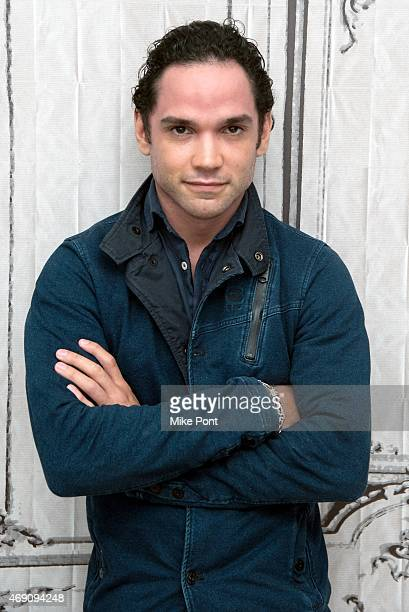 Actor Reece Ritchie attends the AOL BUILD Speaker Series The Cast Of 'Desert Dancer' at AOL Studios In New York on April 9 2015 in New York City