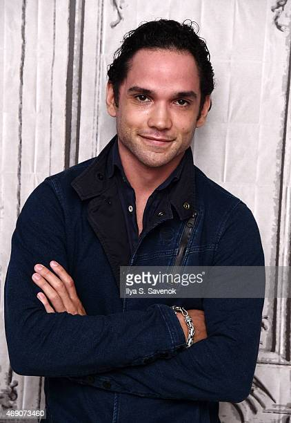Actor Reece Ritchie attends the AOL BUILD Speaker Series with the cast of 'Desert Dancer' at AOL Studios on April 9 2015 in New York City