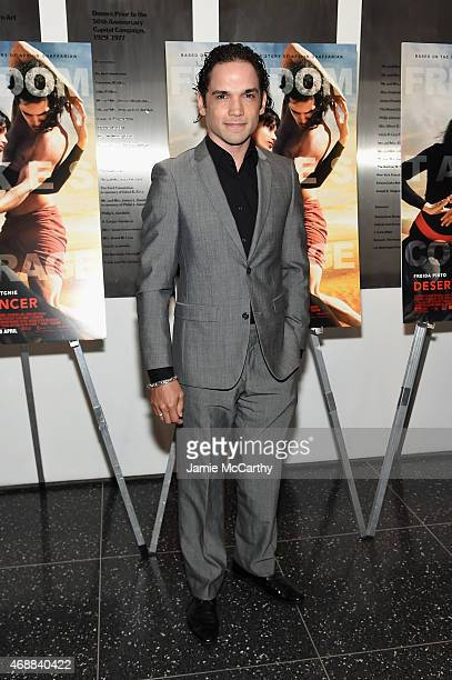 Actor Reece Ritchie attends the special screening of Relativity Studio's 'Desert Dancer' at Museum of Modern Art on April 7 2015 in New York City