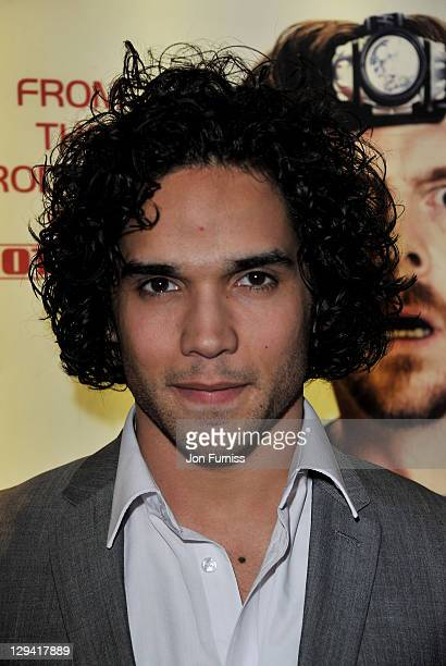 Actor Reece Ritchie attends the world premiere of 'Paul' at The Empire Cinema on February 7 2011 in London England