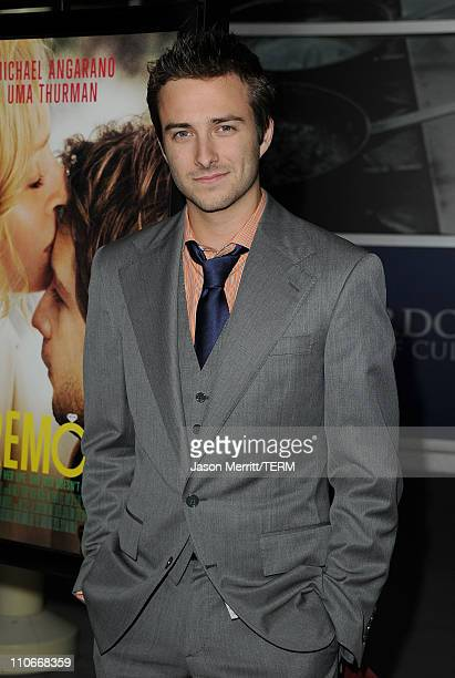 Actor Reece Thompson arrives at the Ceremony Los Angeles premiere at ArcLight Cinemas on March 22 2011 in Hollywood California