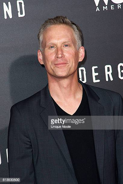 Actor Reed Diamond attends WGN America's 'Underground' World Premiere on March 2, 2016 in Los Angeles, California.