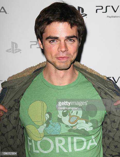 Actor Reed Ewing attends Sony PlayStation's unveiling of the PS VITA portable entertainment system at Siren Studios on February 15, 2012 in...