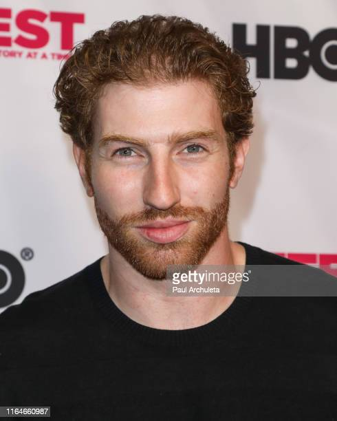 Actor Reed Marvin attends the screening of From Zero To I Love You at the 2019 Outfest Los Angeles LGBTQ Film Festival at TCL Chinese 6 Theatres on...