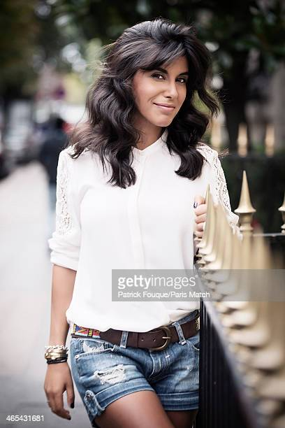Actor Reem Kherici is photographed for Paris Match on September 6 2013 in Paris France