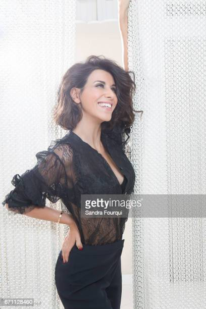 Actor Reem Kherici is photographed on November 28 2016 in Paris France