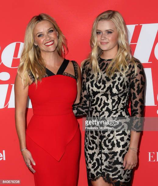 Actor Reese Witherspoon and Ava Phillippe attend the premiere of Open Road Films' Home Again at the Directors Guild of America on August 29 2017 in...