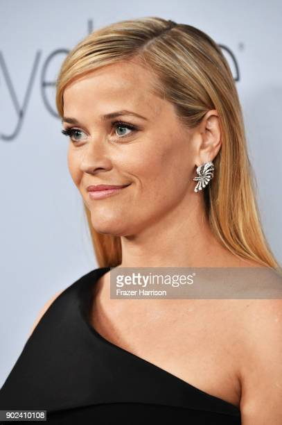 Actor Reese Witherspoon attends the 19th Annual PostGolden Globes Party hosted by Warner Bros Pictures and InStyle at The Beverly Hilton Hotel on...