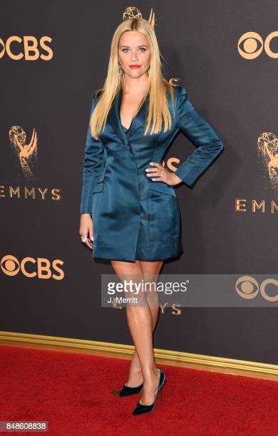 Actor Reese Witherspoon attends the 69th Annual Primetime Emmy Awards at Microsoft Theater on September 17 2017 in Los Angeles California