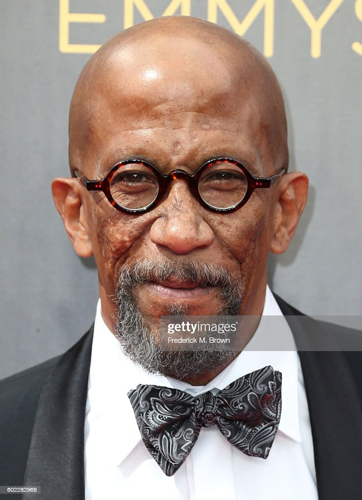 Actor Reg E. Cathey attends the 2016 Creative Arts Emmy Awards at the Microsoft Theater on September 10, 2016 in Los Angeles, California.