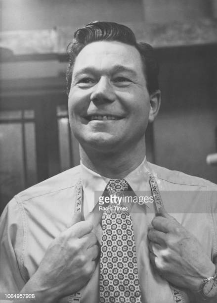 Actor Reg Varney in a scene from the television series 'The Rag Trade' 1961