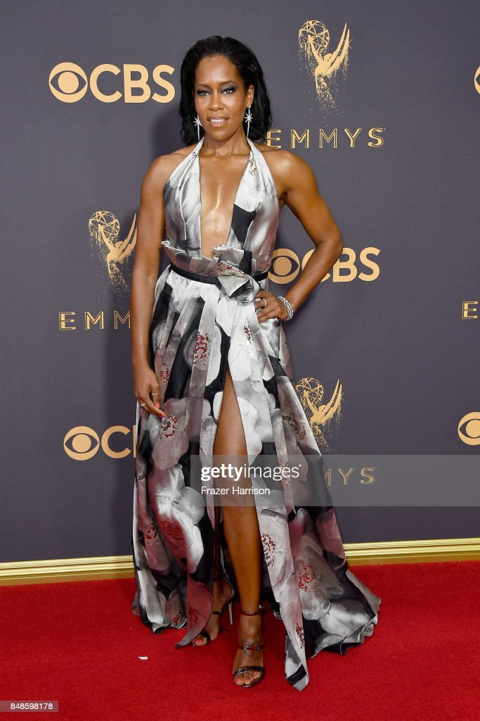 Actor Regina King attends the 69th Annual Primetime Emmy Awards at Microsoft Theater on September 17, 2017 in Los Angeles, California.