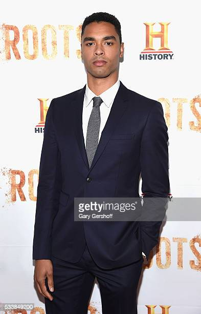 """Actor Regé-Jean Page attends the """"Roots"""" night one screening at Alice Tully Hall, Lincoln Center on May 23, 2016 in New York City."""
