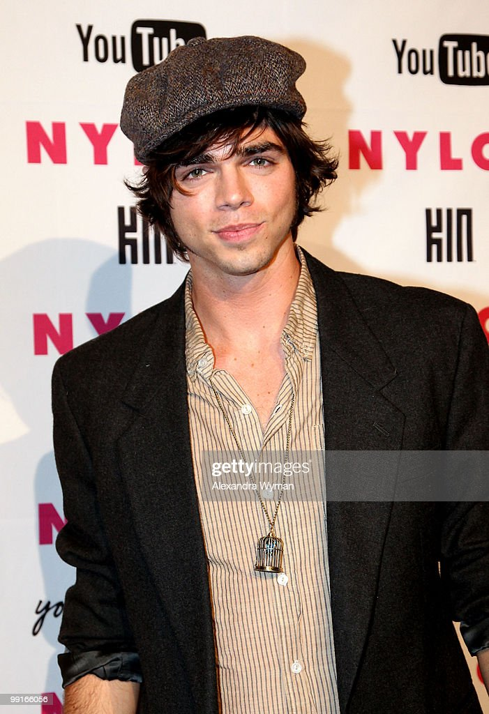 Actor Reid Ewing arrives at NYLON'S May Young Hollywood Event at Roosevelt Hotel on May 12, 2010 in Hollywood, California.