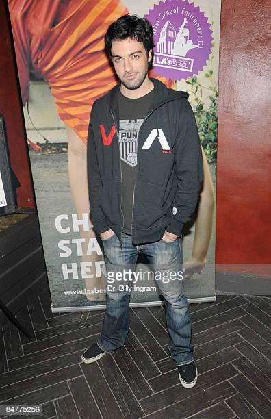 Actor Reid Scott attends Born Uniqorn Summer '09 Collection To Benefit LA's Best at Bardot on February 10 2009 in Hollywood California