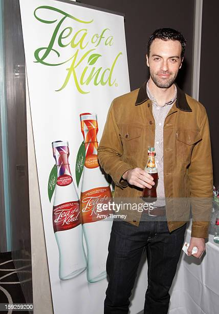 Actor Reid Scott attends Kari Feinstein's PreGolden Globes Style Lounge at the W Hollywood on January 10 2013 in Hollywood California