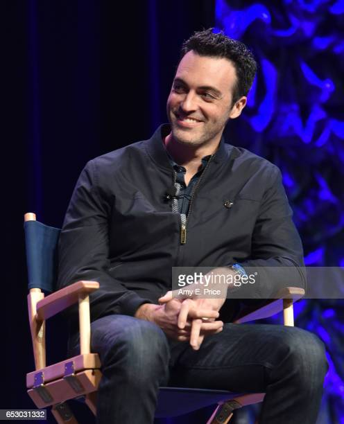 Actor Reid Scott speaks onstage at 'Featured Session VEEP Cast' during 2017 SXSW Conference and Festivals at Austin Convention Center on March 13...