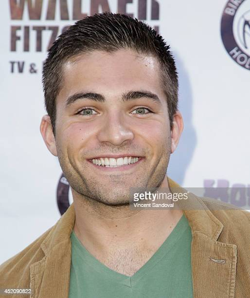 Actor Reiley McClendon attends the 2014 Etheria Film Night at American Cinematheque's Egyptian Theatre on July 12 2014 in Hollywood California