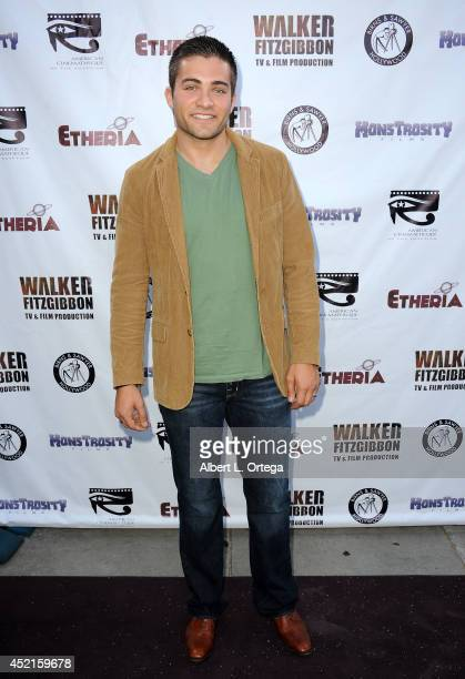 Actor Reily McClendon arrives for the 2014 Etheria Film Night held at American Cinematheque's Egyptian Theatre on July 12 2014 in Hollywood California