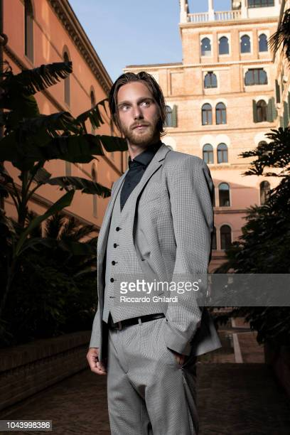 Actor Reinout Scholten van Aschat is photographed for Self Assignment on September 2018 in Venice Italy