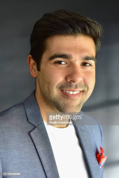 Actor Reko Moreno of the Nosotros cultural Organization attends the Giveback Day at TAP The Artists Project on August 8 2018 in Los Angeles California