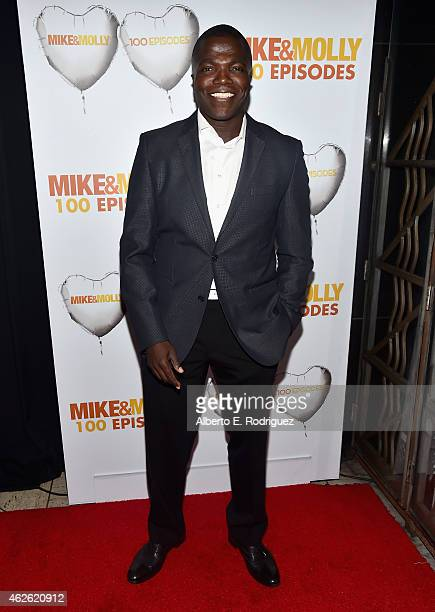 Actor Rena Wilson attends CBS's Mike Molly 100th Episode celebration at Cicada on January 31 2015 in Los Angeles California