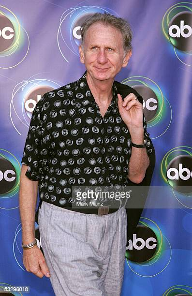 Actor Rene Auberjonois arrives at the ABC TCA party at the Abby on July 27 2005 in West Hollywood California