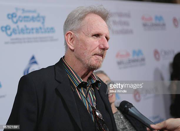 Actor Rene Auberjonois attends the International Myeloma Foundation's 7th Annual Comedy Celebration Benefiting The Peter Boyle Research Fund hosted...