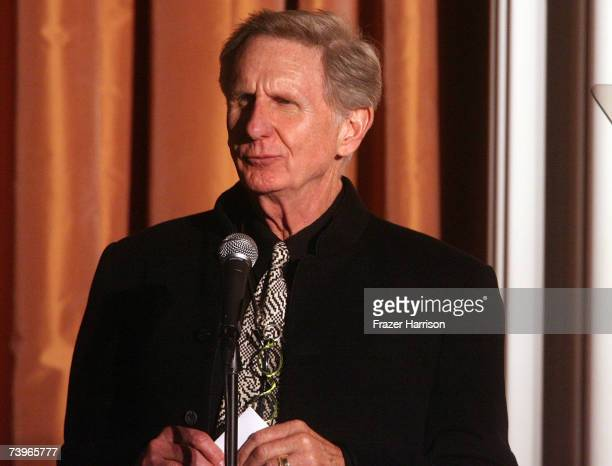 Actor Rene Auberjonois presents the Best Performance in a TV Movie or Miniseries award onstage during the 11th annual PRISM Awards at the Beverly...