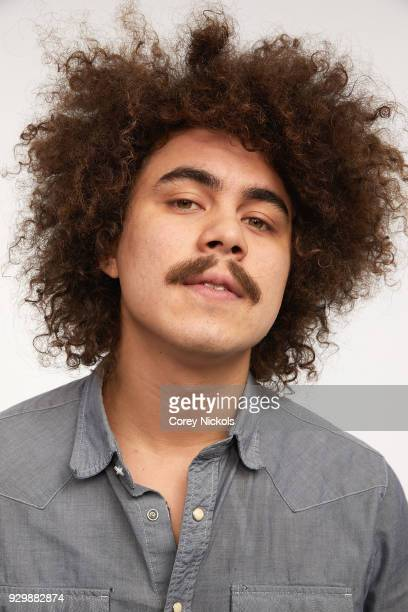 Actor Rene Cruz from the film 'Pet Names' poses for a portrait in the Getty Images Portrait Studio Powered by Pizza Hut at the 2018 SXSW Film...