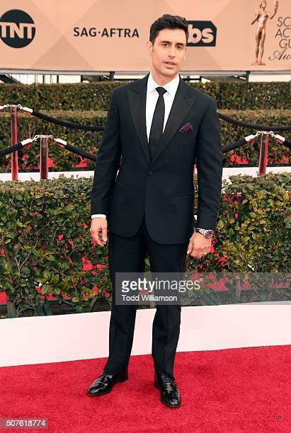 Actor Rene David Ifrah attends the 22nd Annual Screen Actors Guild Awards at The Shrine Auditorium on January 30, 2016 in Los Angeles, California.