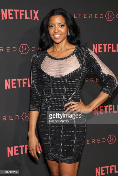 Actor Renée Elise Goldsberry attends the World Premiere of the Netflix Original Series Altered Carbon on February 1 2018 in Los Angeles California