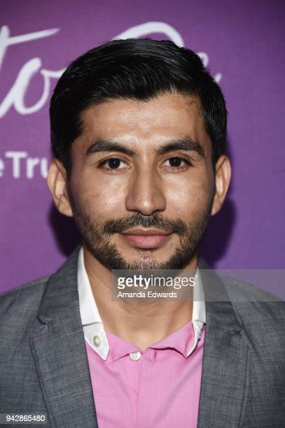 Actor Rene Mena attends the premiere of the AltaMed 'Free To Be' sexual health campaign at the Target Terrace Lounge on April 6 2018 in Los Angeles...