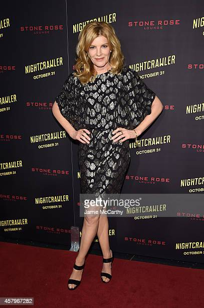 Actor Rene Russo attends the Nightcrawler New York Premiere at AMC Lincoln Square Theater on October 27 2014 in New York City