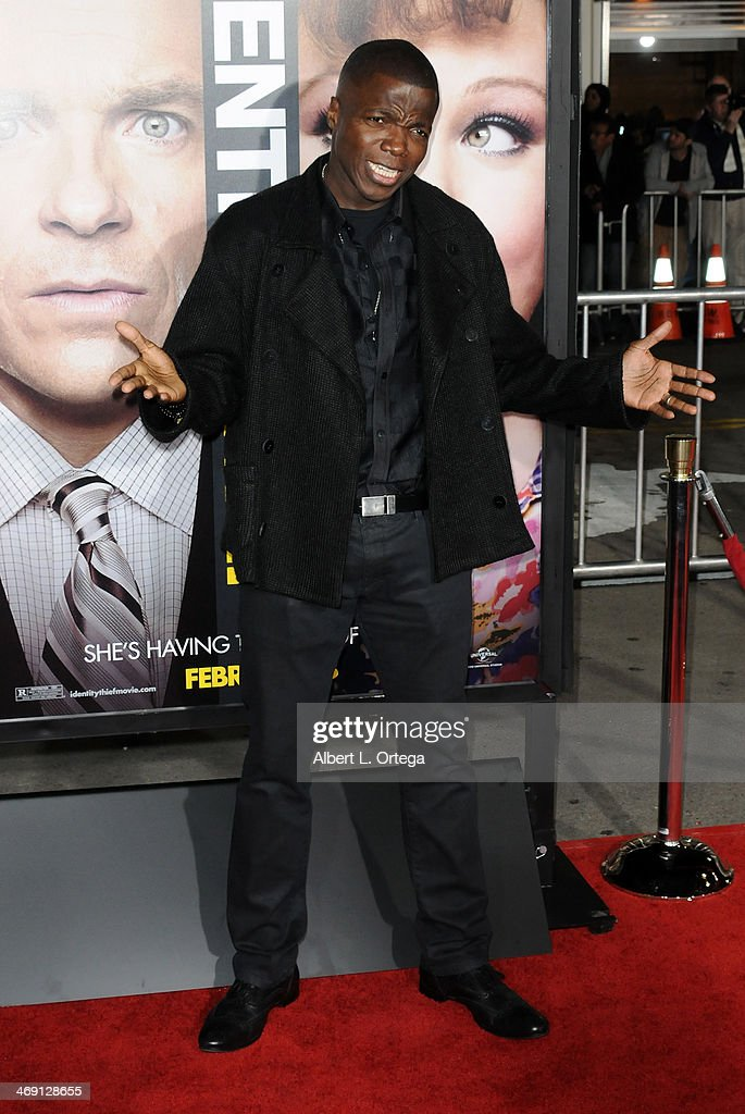 Actor Reno Wilson arrives for the Premiere Of Universal Pictures' 'Identity Thief' held at Mann Village Theater on February 4, 2013 in Westwood, California.