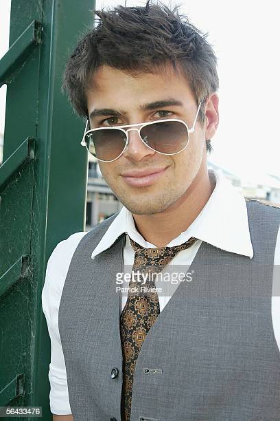 Actor Reshad Strik attends the Channel 7 Cocktail Party in Pyrmont on December 14 2005 in Sydney Australia