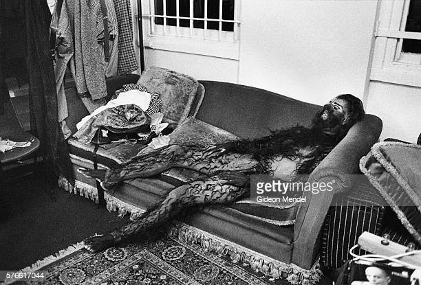 Actor Resting Backstage at the Hackney Empire Theater