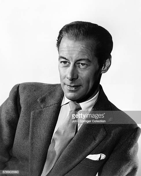 Actor Rex Harrison at the time of his appearance in the 1952 movie The Four Poster.