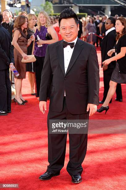 Actor Rex Lee arrives at the 61st Primetime Emmy Awards held at the Nokia Theatre on September 20, 2009 in Los Angeles, California.