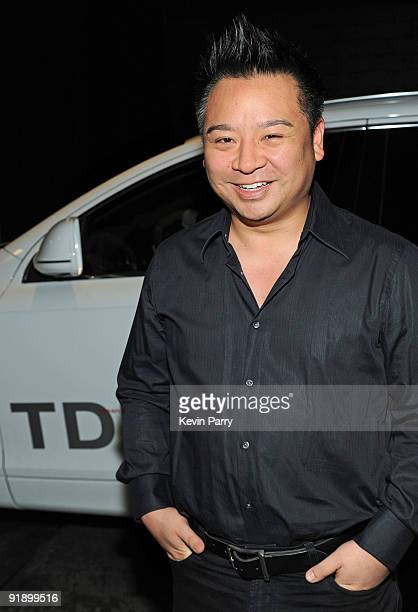 Actor Rex Lee arrives in an Audi TDI for Assistants Night Out at Bond St. Beverly Hills on October 14, 2009 in Beverly Hills, California.