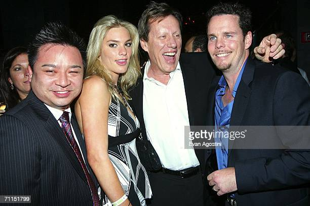 Actor Rex Lee Ashley Madison James Woods and Kevin Dillon attend the New York Premiere after party for the 3rd Season of HBO's Entourage at Buddha...
