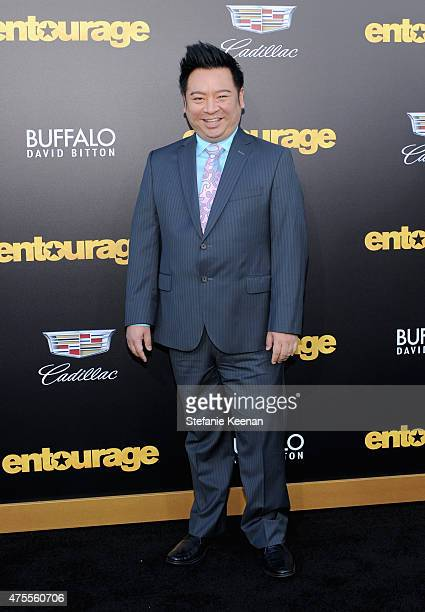 Actor Rex Lee attends the premiere of ENTOURAGE, sponsored by Buffalo David Bitton, at the Regency Village Theatre on June 1, 2015 in Westwood,...