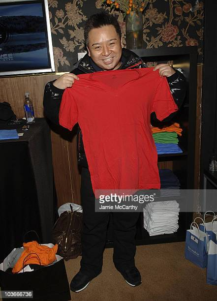 Actor Rex Lee with LnA T-shirts at Boost Mobile Lounge at Marquee on January 18, 2008 in Park City, Utah.