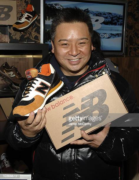 Actor Rex Lee with New Balance Sneakers at Boost Mobile Lounge at Marquee on January 18, 2008 in Park City, Utah.