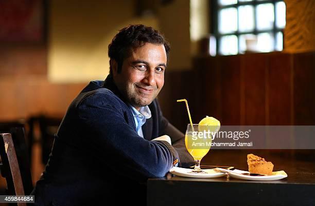 Actor Reza Ataran looks on during 'Sperm Whale' Movie on on December 2 2014 in Tehran Iran